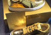 Air Jordan 1 low pinnacle gold
