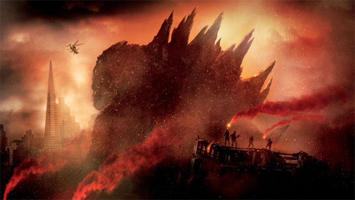 Godzilla promo 2