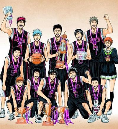 Kuroko's Basketball_Release_Date