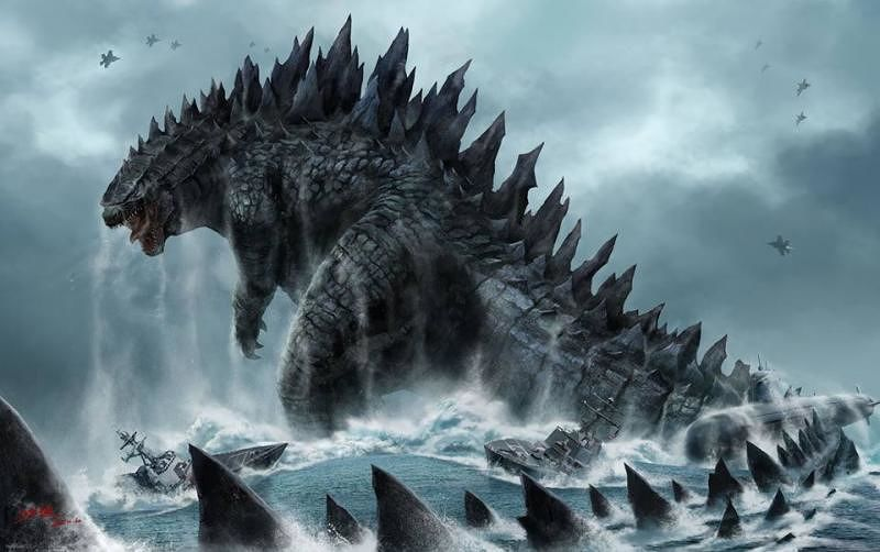 Godzilla 2 — Out in 2018_2