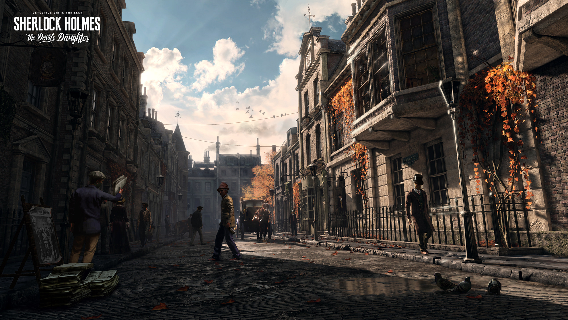 Sherlock Holmes: The Devil's Daughter game
