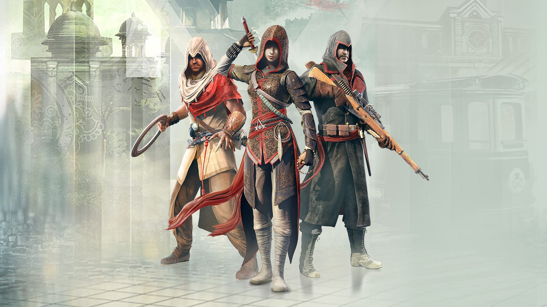 Assassin's Creed Chronicles Trilogy promo 1