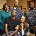 THE CARMICHAEL SHOW -- Season: 1 -- Pictured: (l-r) Loretta Devine as Cynthia Carmichael, Jerrod Carmichael as Himself, David Alan Grier as Joe Carmichael, Amber Stevens West as Maxine, Lil Rey Howery as Bobby Carmichael -- (Photo by: Matthias Clamer/NBC)