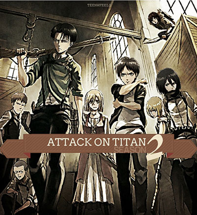 Attack on Titan Season 2 Release Date
