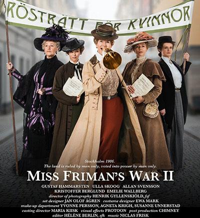 Fröken Frimans krig Release Date