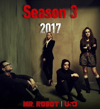 Mr. Robot season 3 Release Date