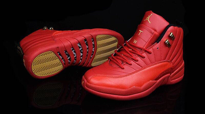 Air Jordan 12 Low Red Suede 2