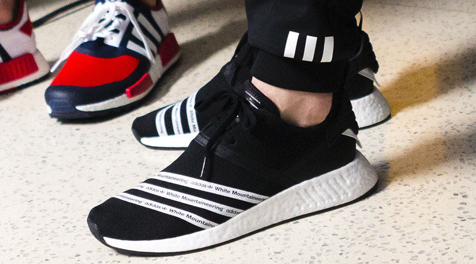 White Mountaineering And Adidas Nmd R2 2