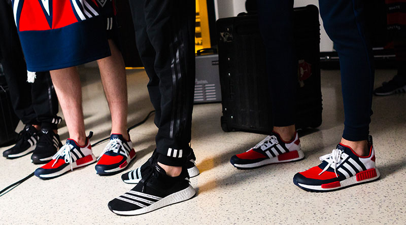 White Mountaineering And Adidas Nmd R2 3
