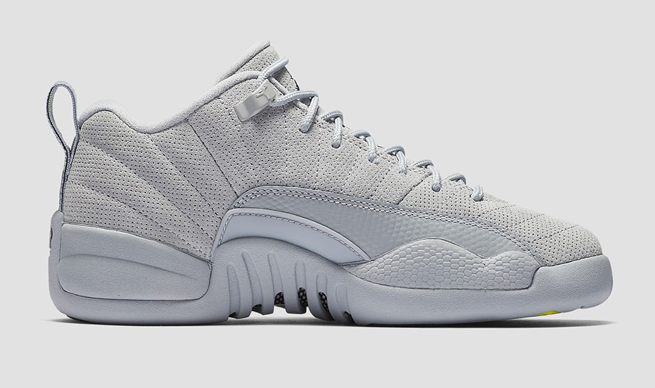 Air Jordan 12 Low Wolf Grey 1