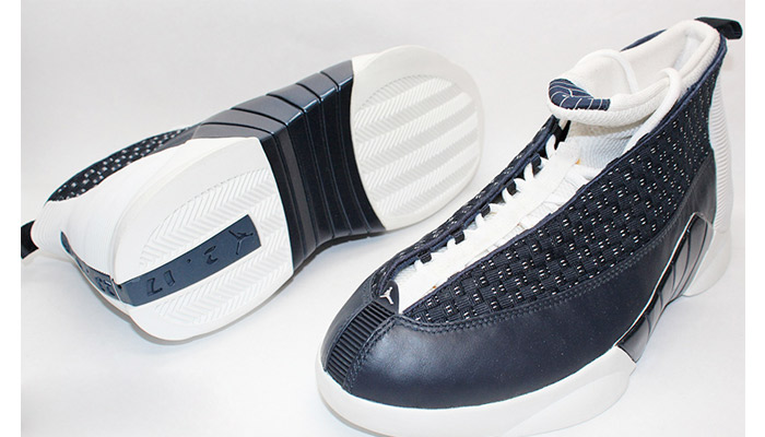 The Air Jordan 15 Obsidian 1