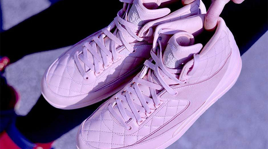 Just Don X Air Jordan 2 Pink 3
