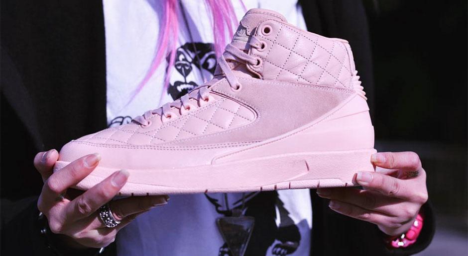 Just Don X Air Jordan 2 Pink 1