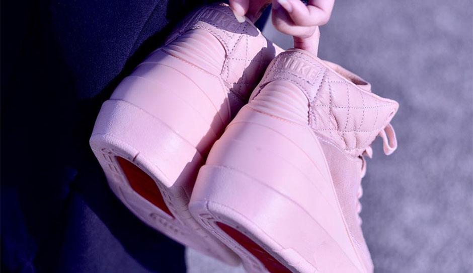 Just Don X Air Jordan 2 Pink 2
