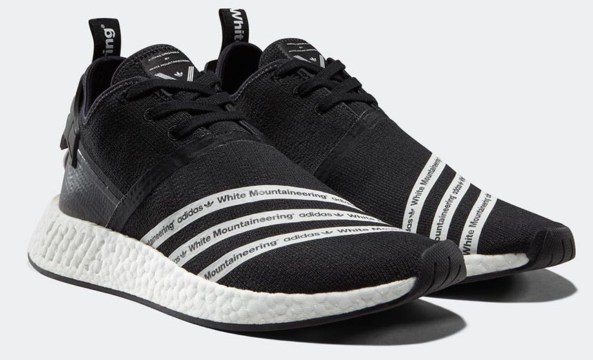 White Mountaineering And Adidas Nmd R2 1